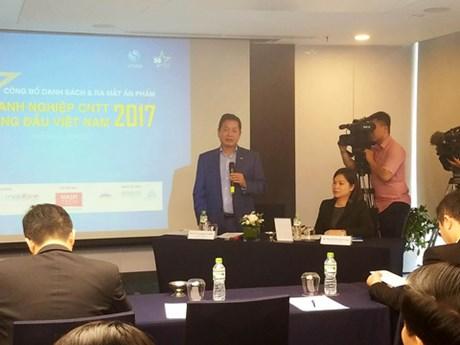 Publication de la liste des 50 leaders des TI au Vietnam en 2017
