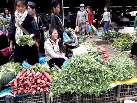 Promenade au marché de Sa Pa