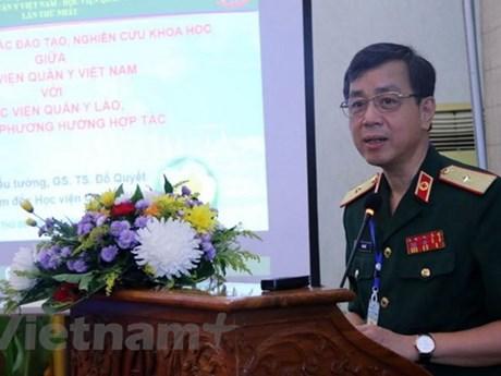 Le Vietnam et le Laos renforcent leur coopération dans la médecine militaire