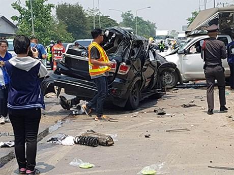 Thaïlande : les accidents routiers en hausse pendant la fête Songkran