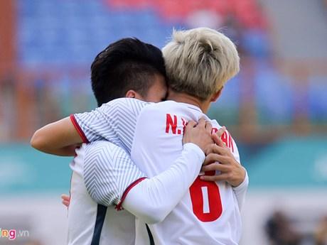 ASIAD 2018 : l'équipe olympique de football du Vietnam domine celle du Japon