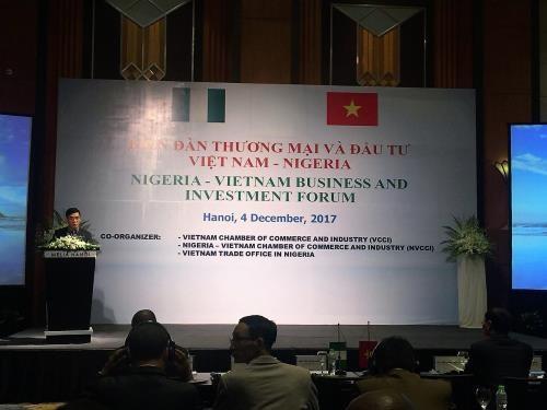 Forum du commerce et de l investissement vietnam nig ria for Chambre de commerce vietnam