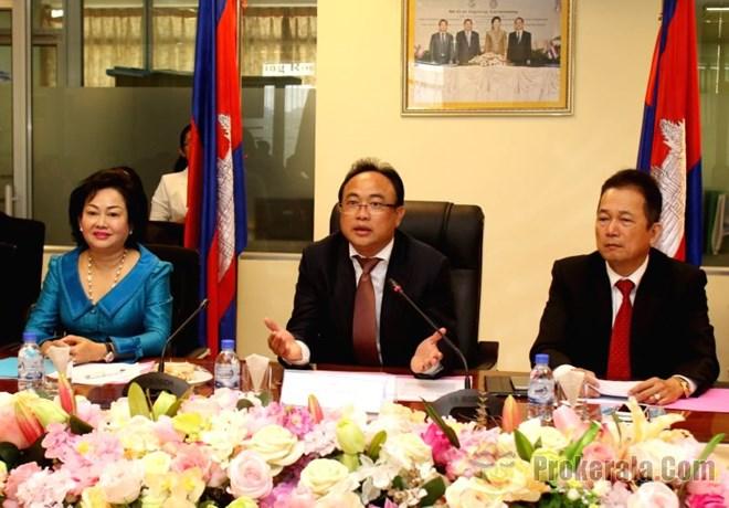 L ue et le cambodge consolident leur coop ration - Chambre de commerce europeenne ...