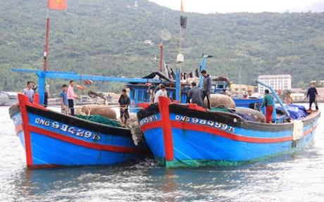 bateau de peche vietnamien