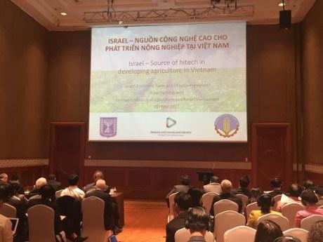Les entreprises isra liennes veulent coop rer avec le for Chambre de commerce vietnam