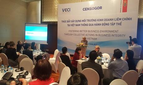 Promotion de l 39 dification d 39 un environnement des affaires for Chambre de commerce vietnam