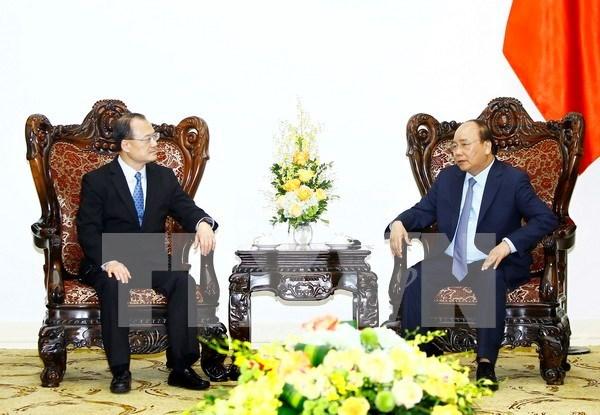 le premier ministre re oit le pr sident de la chambre de On chambre commerce hong kong