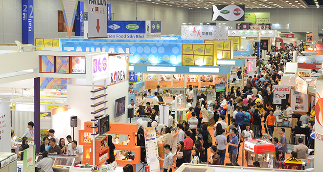 Pr s de 40 pays et territoires au salon international food for Chambre de commerce vietnam