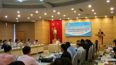 Renforcer le partenariat diplomates hommes d affaires for Chambre de commerce vietnam