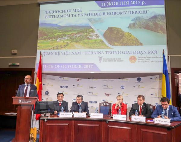 Forum sur les relations vietnam ukraine dans la nouvelle for Chambre de commerce vietnam
