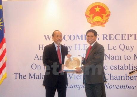 La chambre du commerce malaisie vietnam voit le jour for Chambre de commerce vietnam