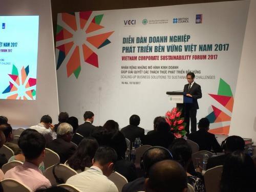 Les entreprises appel es miser sur le d veloppement for Chambre de commerce vietnam