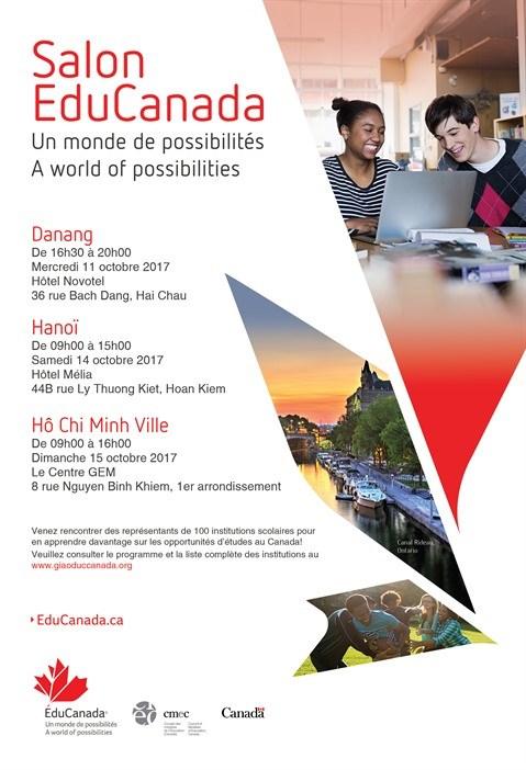 Salons ducanada au vietnam 2017 parler vietnam for Salon apec 2017